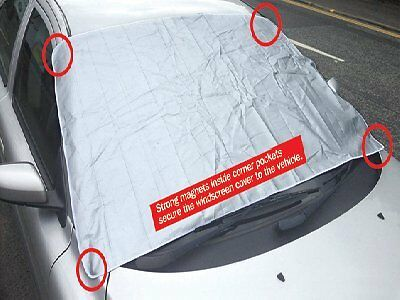 MAGNETIC WINTER CAR WINDSCREEN COVER FROST ICE SNOW PROTECTOR SUN