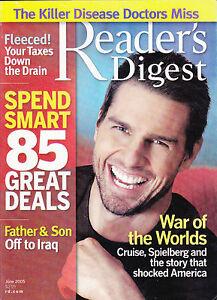 Magazine-Reader-039-s-Digest-June-2007-Tom-Cruise-Steven-Spielberg-06-War-of-the-wor