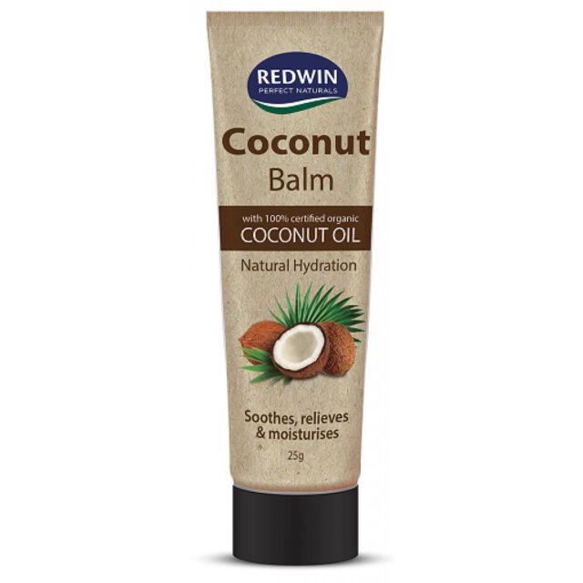 Redwin Coconut Balm 25g 100% Certified Organic Coconut Oil Lips Balm Insect Bite