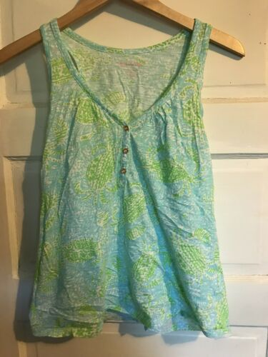 Lilly Pulitzer Hartley Top Get Crackin Size Small