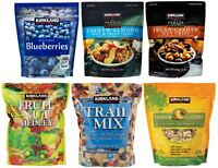 Assorted Kirkland Signature Blueberries, Trail Mix, Cashew Clusters, Etc...