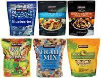Assorted Kirkland Signature Fruit & Nuts, Trail Mix, Cashew Clusters, Etc...