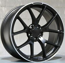 (4) 18x8/9 5x112 Wheels & Tires PKG Mercedes Benz C, E Class 250 300 350 550 63