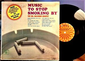SAL-SALVADOR-LP-Music-to-Stop-Smoking-By-Roulette-R-25262-1963-EX