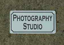 PHOTOGRAPHY STUDIO Metal Sign 4 Hotel Motel Cosplay TV Movie Props