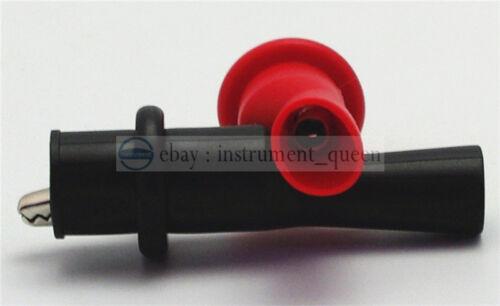 Universal safety 4mm Banana Test Leads lantern Tip for Multimeter+Alligator clip