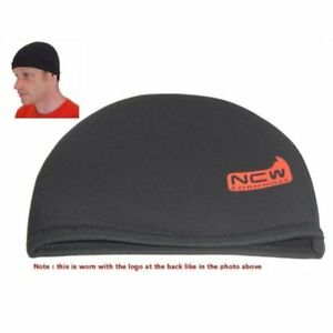 Image is loading Beanie-hat-3mm-neoprene-stretchy-very-warm-waterproof- f39e6c56eec