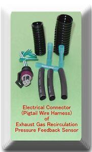 Electrical-Connector-of-EGR-Pressure-Feedback-DPFE-Sensor-VP18-Fits-Ford