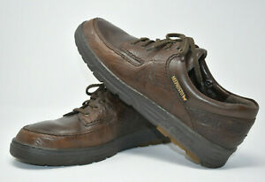 Mephisto-034-City-Hiker-034-Brown-Leather-Casual-Walking-Shoes-Men-039-s-12-US