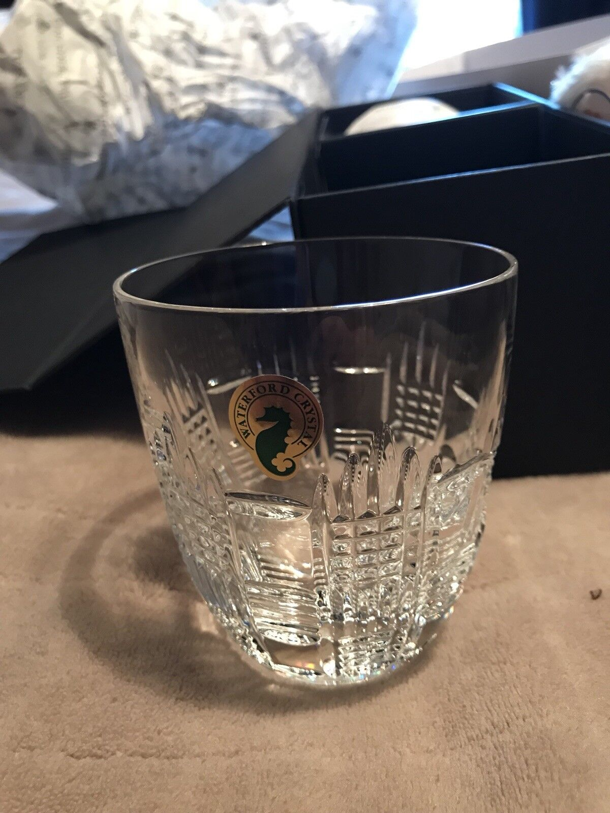 Waterford Crystal Dungarvan Double Old Fashioned, Pair