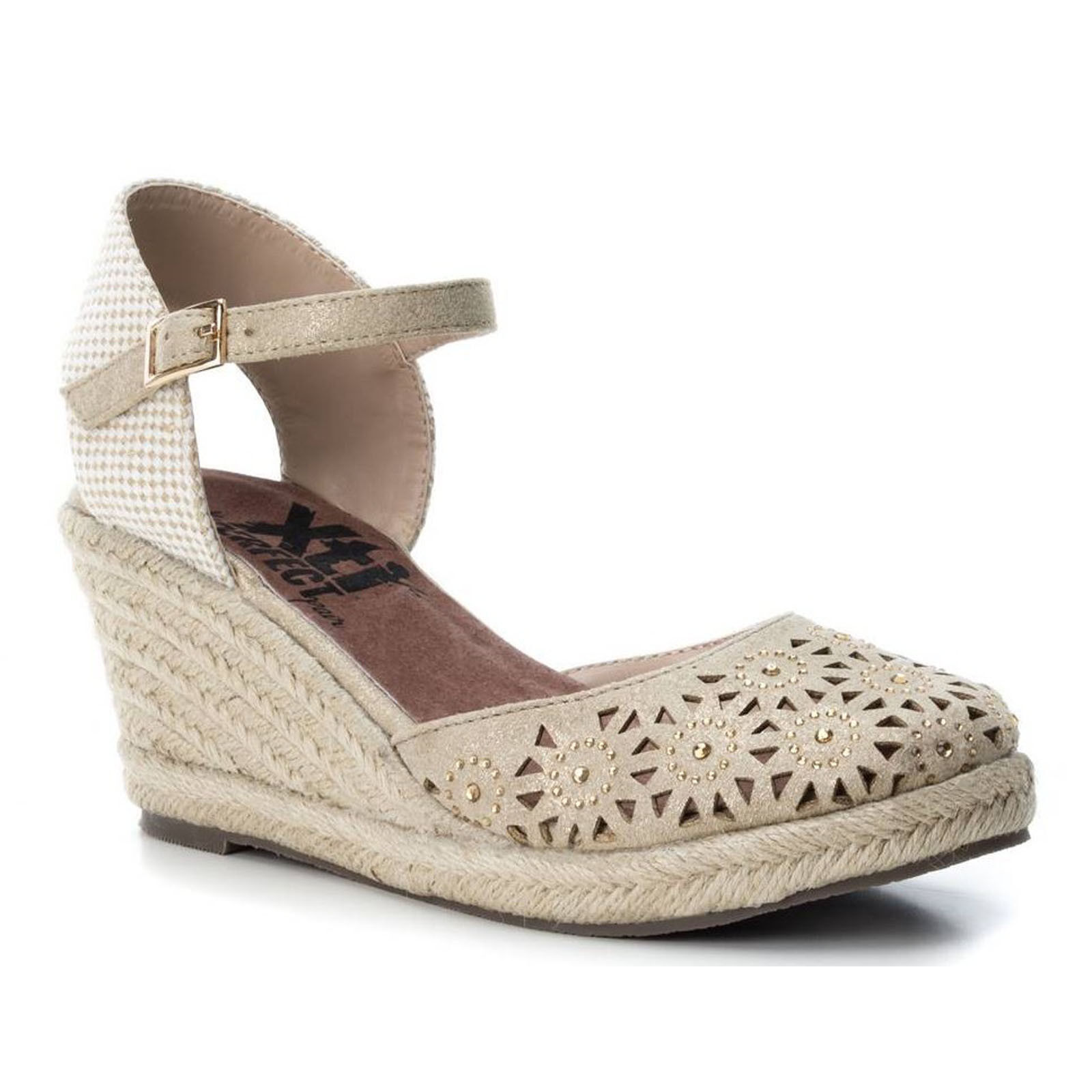 ☼ELEN☼ Sandale compensées - Xti -  Ref: 0961