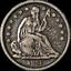 thumbnail 1 - 1840-O Seated Liberty Dime No Drapery Choice VF/XF Great Eye Appeal Nice Strike