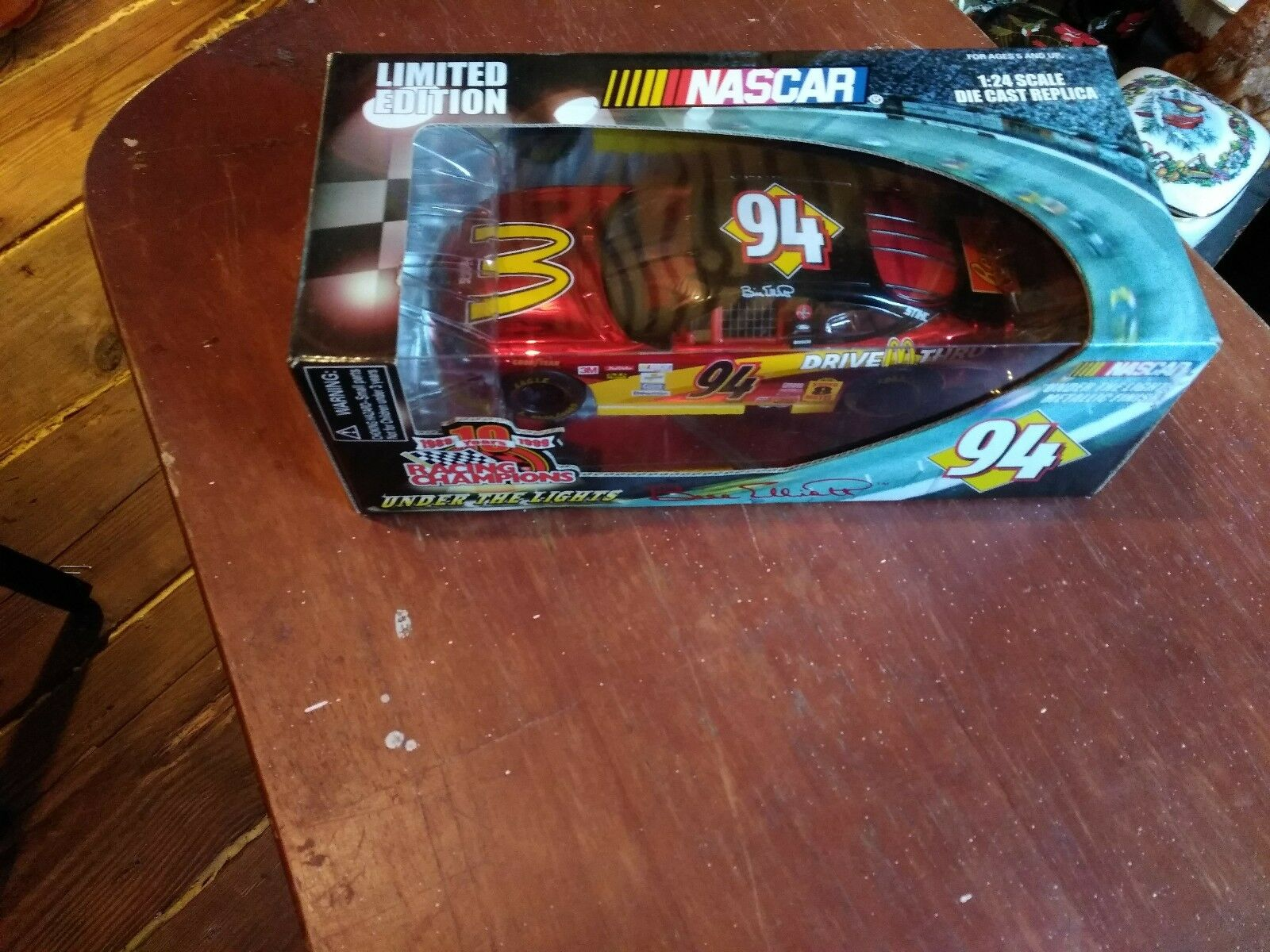 Vntg Vntg Vntg 1999 Nascar Bill Elliot Limited Edition Metallic Finish Racing Champion 388518