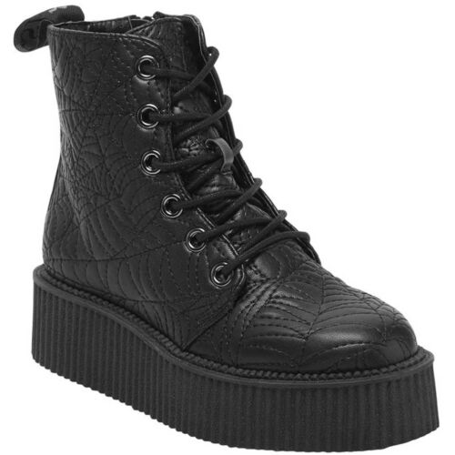 piattaforma Gothic Shoes Sneakers Platform Occult con Killstar Creeper Coffin Spinning qTwxYZFY
