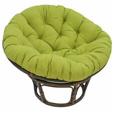 44-inch Solid Twill Papasan Cushion (Fits 42-inch Papasan Frame) - Egg Shell