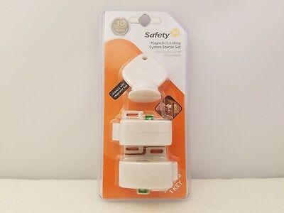 Safety 1st MAGNETIC LOCKING SYSTEM Starter Set 2 locks//1 key HS130 NEW