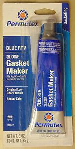 Permatex Blue RTV Silicone Gasket Maker for VW Nissan Toyota Subaru Mazda Holden