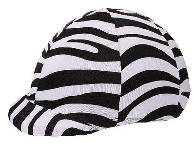 Tough-1 Spandex Helmet Cover Fits Most Approved Riding Helmets Horse Tack