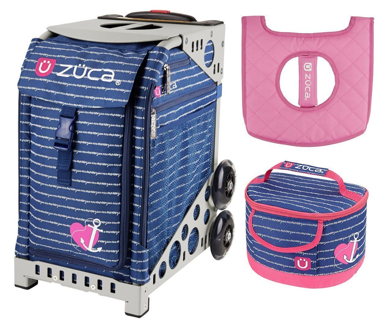 Zuca Sport Bag - ANCHOR MY HEART  w  GIFT Lunchbox and Seat Cover (G  Frame)  looking for sales agent
