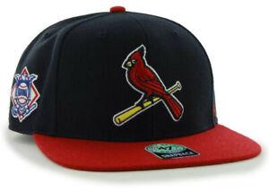 ST-LOUIS-CARDINALS-MLB-FLAT-BILL-SURE-SHOT-039-47-CAPTAIN-SNAPBACK-CAP-HAT-NEW