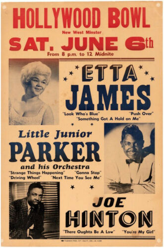 Etta-James-VERY-RARE-Original-Vintage-Concert-Poster-1964