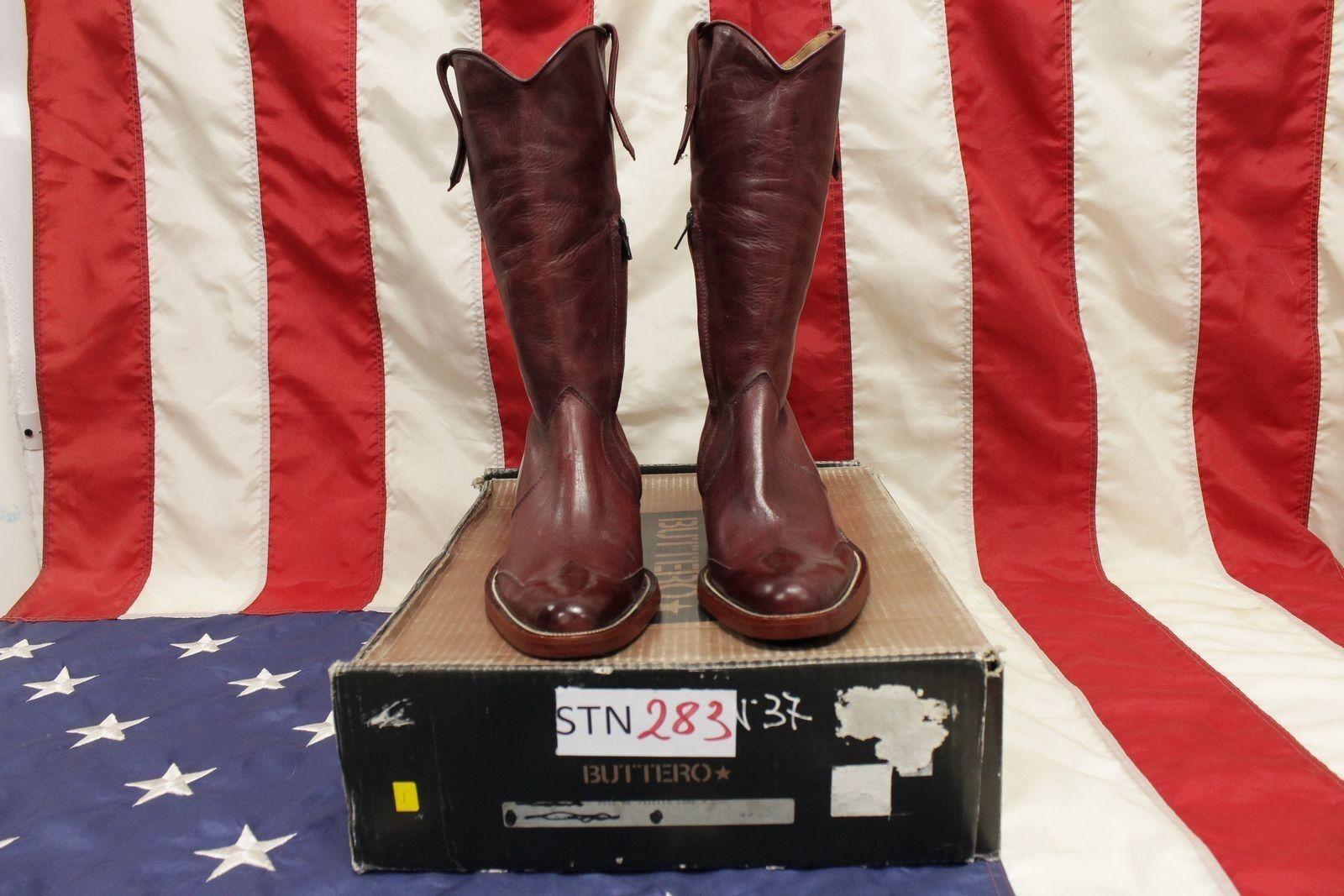 Stiefel Buttero N.37 (cod. STN283) STN283) STN283) Stiefel Western Country Cowboy neu ca9ef0