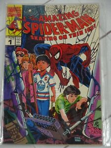 The-Amazing-Spider-Man-Skating-on-Thin-Ice-1-1990-Canadian-variant-C2596