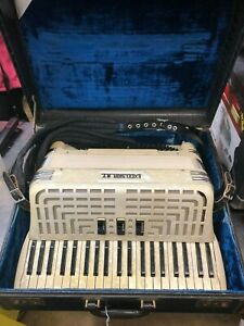 Excelsior NY Accordion American Made 3 Reed w/ Case NICE