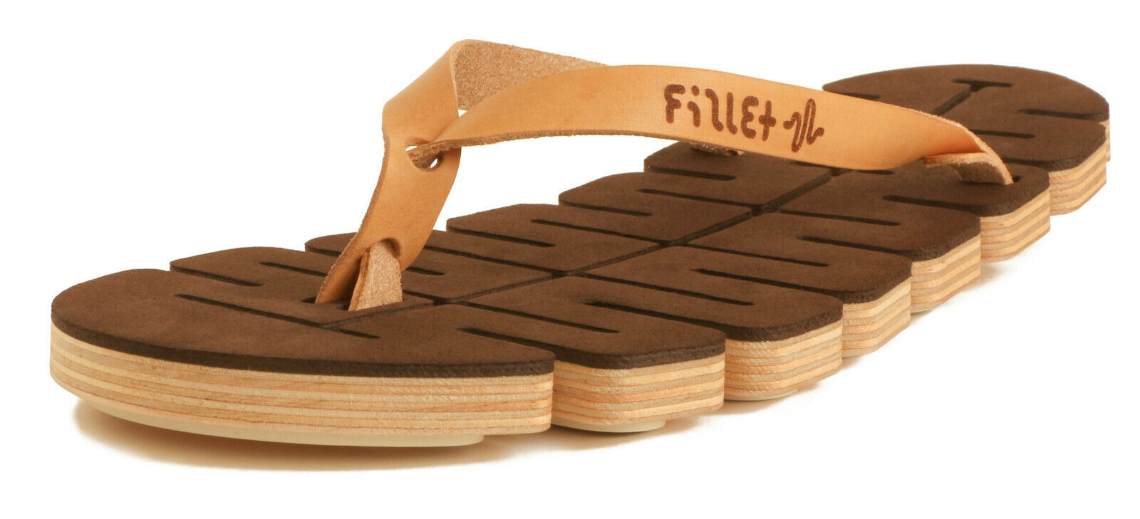 utilis  - madera flexible-sandalia fillet-sandalias-chanclas-señora caballero
