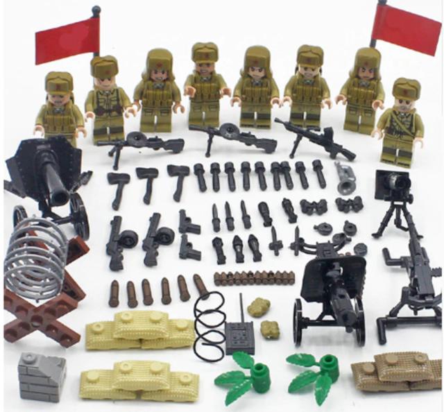 2 pieces *NEW* Lego Blue Epaulettes Shoulder Pads Torso for Soldier Figs