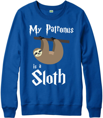 Harry Potter wizard Gift Top My Patronus Is A Sloth Jumper