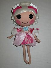 """Lalaloopsy Suzette La Sweet Doll 12"""" Full Size White Hair Clothes"""