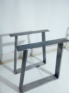 gambe tavolo ferro design 2 x iron table legs 3 finishes