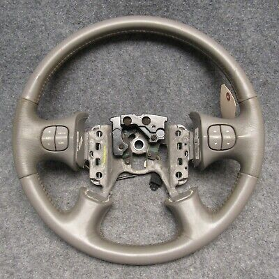 2004-2005 Buick Park Avenue Steering Wheel Gray Leather ...