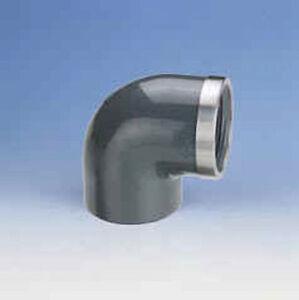 PVC-Winkel-90-50-1-1-2-034-verstaerkt-Klebe-Gewindemuffe