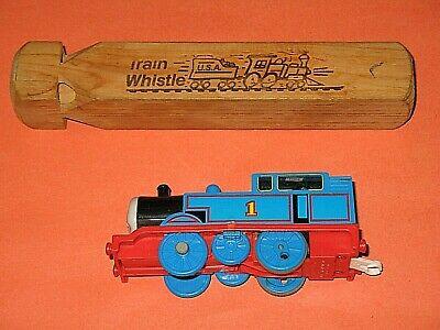 Wooden Train Whistle Wood Railroad Steam Locomotive Whistle Children/'s Toys BI