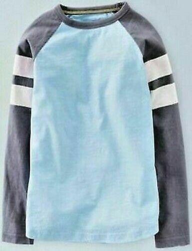 Mini Boden Applique T-Shirt Top Hemd Raglan 2-8Yrs