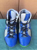 Nike Hyperdunk NIKEiD Men's US 9 EU 42.5 Silver/Blue 373350