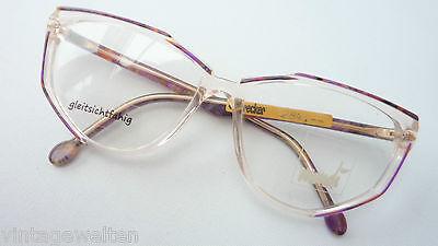 Zuversichtlich Mondi Hochwertige Marken Fassung Damenbrille Extravagant Große Gläser Grösse M