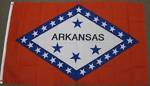 3X5 ARKANSAS STATE FLAG AR FLAGS NEW STATES USA US F229