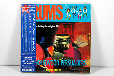 THE HOLLUWOOD PERSUADERS: DRUMS A-GO-GO ~ JAPAN MINI LP CD, ORIGINAL, MEGA RARE