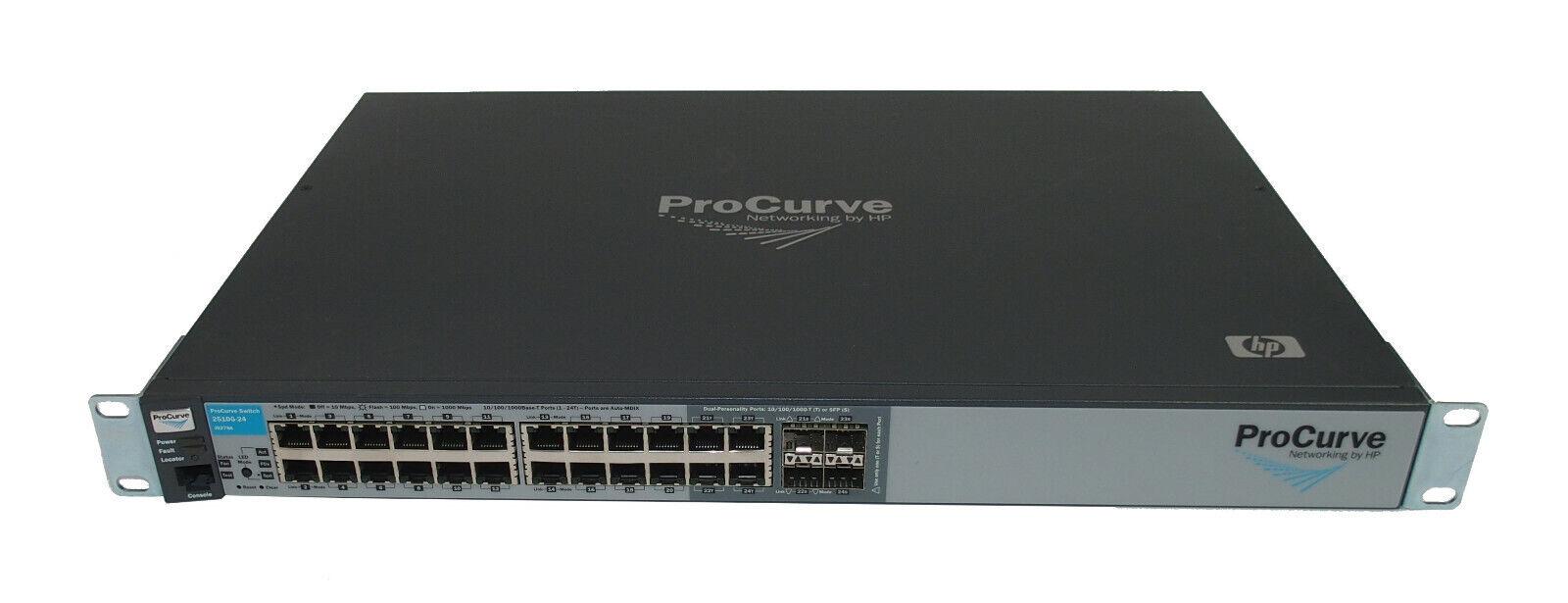 HP J9279A ProCurve 2510G-24 24-Port Gigabit Managed Ethernet Switch 6MthWty