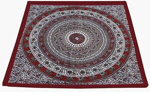New-100-Cotton-Square-Table-Cover-Table-Decor-Wedding-Banquet-Beach-Red