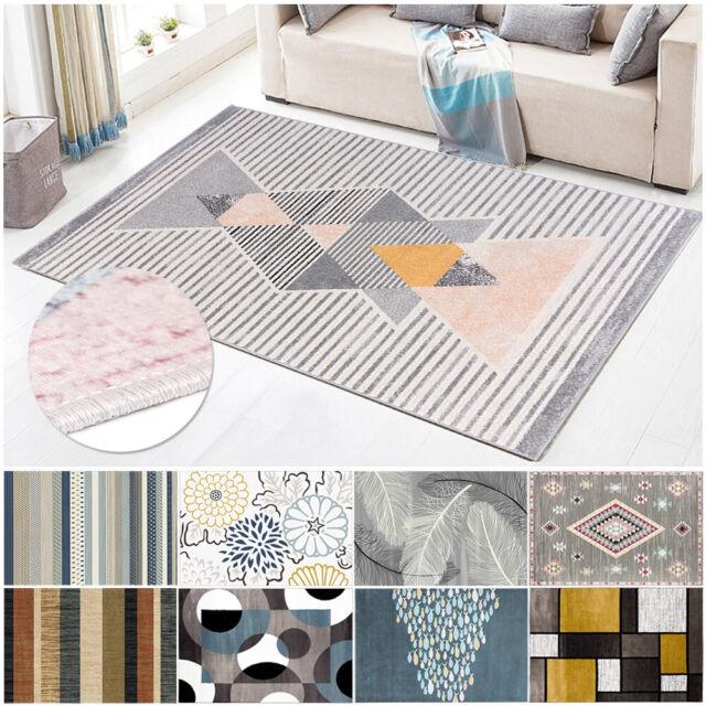 Abstract Sunburst Soft Area Floor Rug