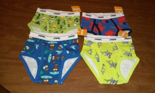NEW Gymboree 4-Pair Boys Underwear Size (XS) 3/4 (FREE SHIPPING)