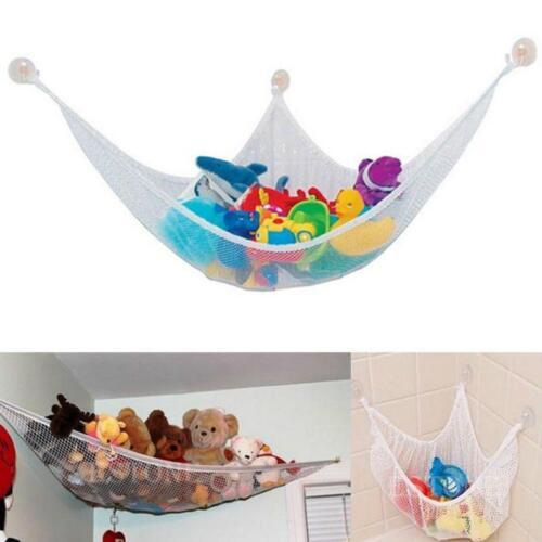 LARGE HAMMOCK STORAGE TIDY KIDS PLAYROOM BEDROOM NURSERY  TOYS GAMES BABY Other Nursery Decoration