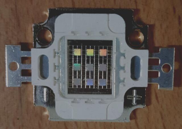 10 Watt UV Ultraviolet LED 395-400nm  9,5-12 V