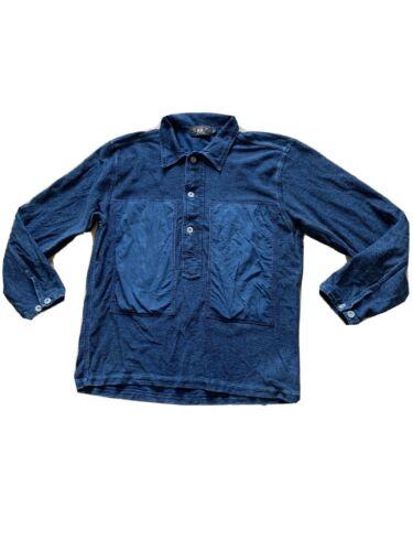 RRL Indigo Pullover Shirt