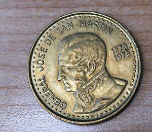 1978 Argentina 100 Pesos 200th Anniversary of Jose de San Martín's birth