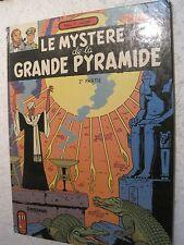 "BD ANCIENNE BLACK & MORTIMER ""LE MYSTERE DE LA GRANDE PYRAMIDE""n°2 COPIE 1972"